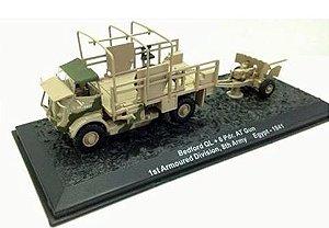 Coleção Blindados de Combate Planeta deAgostini - Bedford QL + 6Pdr. AT Gun 1st Armoured Division, 8th Army - Egypt 1941 - 1/72