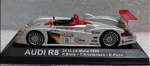 Ixo - Audi R8 - 24 Horas de Le Mans 2000 - 1/43