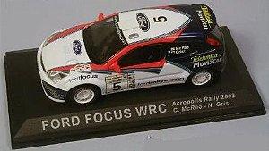 Ixo - Ford Focus WRC - Acropolis Rally 2002 - 1/43