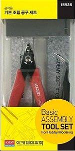 NOVIDADE - ACADEMY - Basic Assembly Tool Set - Conjunto Básico para Montagem de Modelos