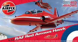 AirFix - RAF Red Arrows Hawk - 1/72