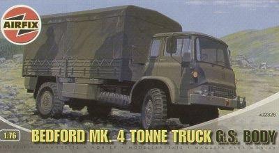 """AirFix - Bedford MK.4 Tonne Truck """"G.S. Body"""" - 1/76"""