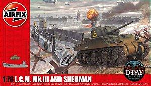 AirFix - L.C.M. Mk.III and Sherman - 1/76