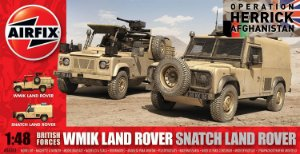 "AirFix - WMIK Land Rover/Snatch Land Rover ""Operation Herrick Afghanistan"" - 1/48"
