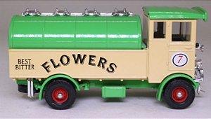 """Corgi - Caminhão AEC 508 Cabover """"Cervejaria Flowers Best Bitter"""" (Sem Caixa)"""