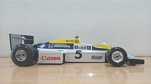 Burago - Williams FW08(FW11) Honda 1982(1986) (Sem Caixa) - 1/24