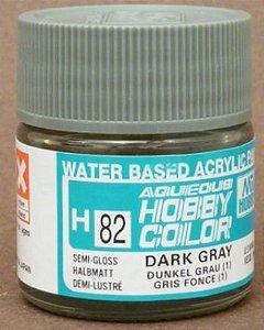 Gunze - Aqueous Hobby Colors H082 - Dark Gray (1) (Semi -Gloss)