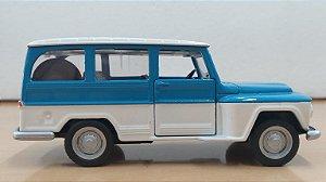 HTC - Ford Willys Rural com Fricção - 1/43 (S/Caixa)