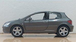 Kinsmart - Peugeot 307 XSi 2001 com Fricção - 1/32 (Sem Caixa)