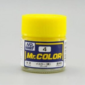 Gunze - Mr.Color 04 - Yellow (Gloss)
