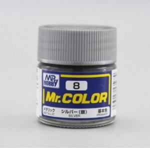 Gunze - Mr.Color C008 - Silver (Metallic)