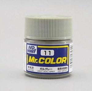 Gunze - Mr.Color C011 - Light Gull Gray (Semi-Gloss)
