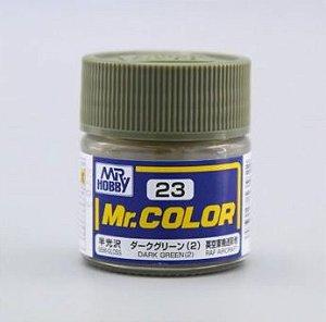 Gunze - Mr.Color 023 - Dark Green (2) (Semi-Gloss)