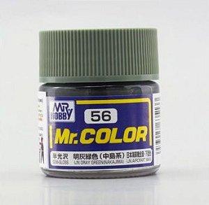 Gunze - Mr.Color 056 - IJN Gray Green (Nakajima) (Semi-Gloss)