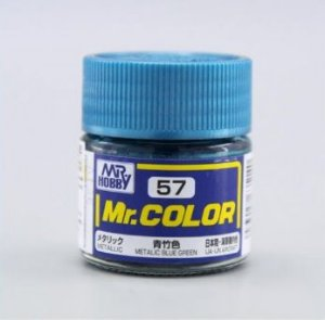 Gunze - Mr.Color 057 - Blue Green (Metallic)