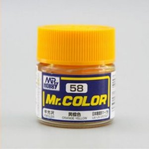 Gunze - Mr.Color 58 - Orange Yellow (Semi-Gloss)