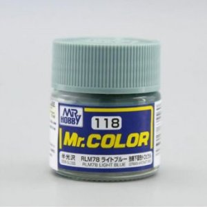Gunze - Mr.Color 118 - Light Blue (Semi-Gloss)