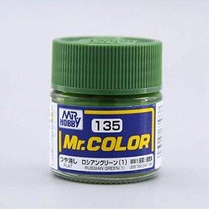 Gunze - Mr.Color 135 - Russian Green (1) (Semi-Gloss)