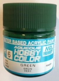 Gunze - Aqueous Hobby Colors H006 - Green (Gloss)