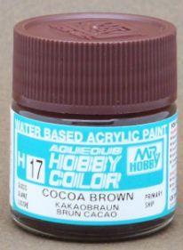 Gunze - Aqueous Hobby Colors H017 - Cocoa Brown (Gloss)