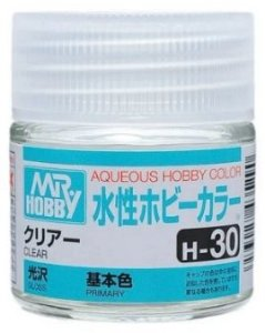 Gunze - Aqueous Hobby Colors H030 - Clear (Gloss) Verniz Brilhante