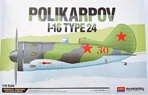 Academy - Polikarpov I-16 Type 24 - 1/48