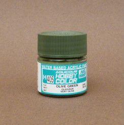 Gunze - Aqueous Hobby Colors 405 - Olive Green (Flat)
