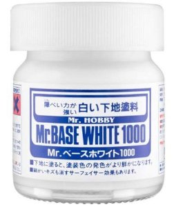 GUNZE - MR. BASE WHITE 1000 - PRIMER BRANCO