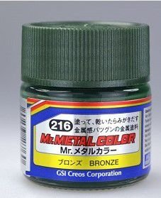 GUNZE - MR. METAL COLOR - BRONZE