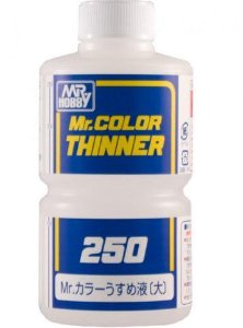 GUNZE - THINNER 250 - SOLVENTE P/ TINTAS MR. COLOR