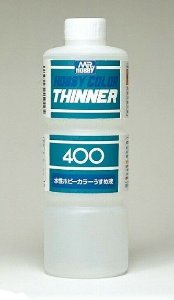 GUNZE - THINNER 400 - SOLVENTE P/ TINTAS HOBBY COLOR