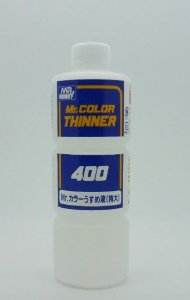 GUNZE - THINNER 400 - SOLVENTE P/ TINTAS MR. COLOR
