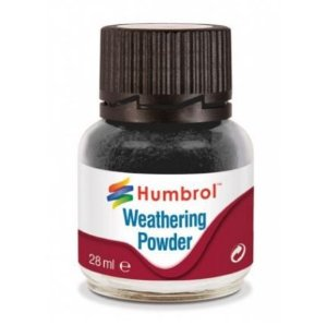 HUMBROL - WEATHERING POWDER 001 - BLACK