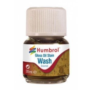 HUMBROL - ENAMEL 209 - WASH GLOSS OIL STAIN