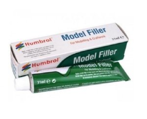 HUMBROL - MODEL FILLER - PUTTY 31ML