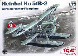 ICM - Henkel He-51 B2 - 1/72