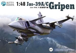 KITTY HAWK - JAS-39A/C GRIPEN - 1/48