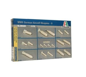 ITALERI - WWII GERMAN AIRCRAFT WEAPONS 2 - 1/72