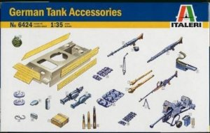 ITALERI - GERMAN TANK ACCESSORIES - 1/35