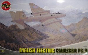 AIRFIX - ENGLISH ELECTRIC CANBERRA PR.9 - 1/48