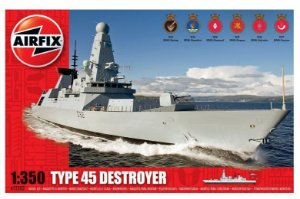AIRFIX - TYPE 45 DESTROYER - 1/350
