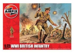 AIRFIX - WWI BRITISH INFANTRY - 1/72