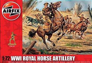 AIRFIX -  WWI ROYAL HORSE ARTILLERY - 1/72