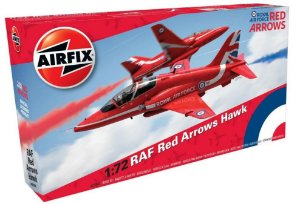 AIRFIX - BAE RED ARROWS HAWK - 1/72