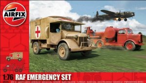 AIRFIX - RAF EMERGENCY SET - 1/76