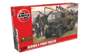 AIRFIX - ALBION AM463 3-POINT FUELLER - 1/48