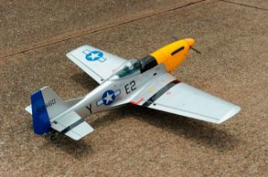 P-51 Mustang 46-55 - ARF - Elétrico e Combustão