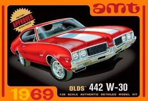 Olds 442 W-30 - 1/25 - NOVIDADE!