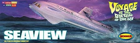 Voyage to The Bottom of the Sea - Seaview - 1/350 - NOVIDADE!