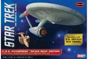 1/1000 Star Trek TOS USS Enterprise Space - NOVIDADE!